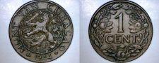 Buy 1944-D Curacao One Cent World Coin