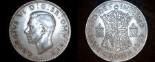Buy 1942 Great Britain Half Crown World Silver Coin - UK
