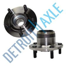 Buy Pair of 2 - NEW Rear Driver and Passenger Wheel Hub and Bearing Assembly w/o ABS