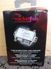 Buy Rocketfish 4-way Bi-directional Cable Amplifier