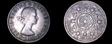 Buy 1963 Great Britain 1 Florin World Coin - UK England