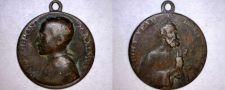 Buy Vintage Pope Pius XIII Pontifex Maximus Medal Pendant Charm