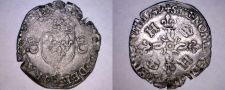 Buy 1549-AA French Douzain Aux Crescent World Coin - France Henry II