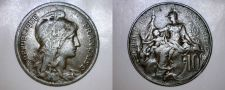 Buy 1917 French 10 Centimes World Coin - France