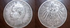 Buy 1902 D German 5 Mark World Silver Coin - Germany Bavaria