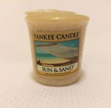 Buy YANKEE VOTIVE CANDLE, Sun And Sand Scent, Authentic Brand Name.