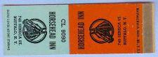 Buy New York Buffalo Matchcover Advertising Horsehead Inn 745 Seneca St Buffal~155