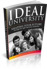 Buy Ideal University + 10 Free eBooks With Resell rights ( PDF format )