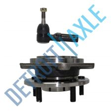 Buy NEW Set of 2 - Front Wheel Hub and Bearing Assembly + Outer Tie Rod