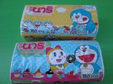 Buy Facial Tissues Soft Paper 2 plys 150 Sheets in Doraemon Doraemi Cat Cartoon Pack