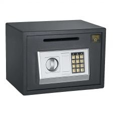 Buy Home Security Safe Steel Digital Depository Cash Drop Lock Heavy Duty Secure