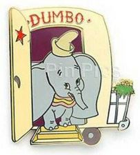 Buy Disney Dumbo Dressing Room Door Auction LE Pin/Pins