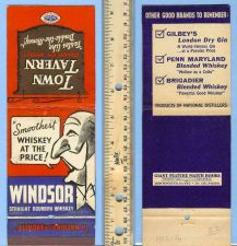 Buy New York New York City Unlabeled Giant Feature Matchcover Windsor Straight~16