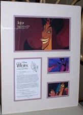Buy Jafar Aladdin Cast member Disney Villain Lithograph LE 1500