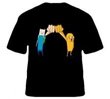 Buy Adventure Time Fist Bump Shirt S to XL