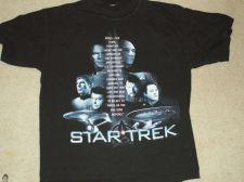 Buy Star Trek Original/NG Final Frontier saying Shirt Size-L