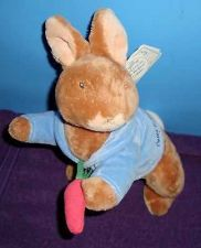Buy Peter Rabbit NWT Gund Beatrix Potter Musical Wind Up Baby Toy Brahms Lullaby