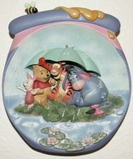 Buy Winnie the Pooh Plate - Pooh's Hunnypot Adventures -