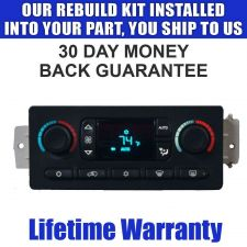 Buy 05 06 07 SILVERADO DIGITAL AUTO CLIMATE TEMP AC REPAIR SERVICE READ LISTING