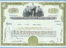Buy New York na Stock Certificate Company: Phillips-Van Heusen Corporation ~61