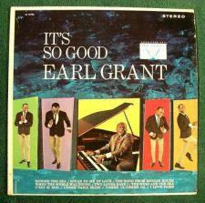 Buy EARL GRANT ~ It's So Good 1967 Jazz LP