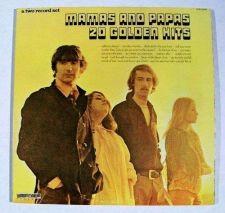 Buy MAMAS AND PAPAS ~ 20 GOLDEN HITS *** 1973 Rock / Sunshine Pop DOUBLE LP