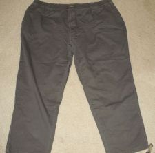 Buy Men's Harbor Bay Casual Dark Green Pants 3X Length 30 - 100% Cotton