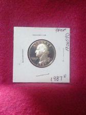 Buy 1987-S 25C (Proof) Washington Quarter