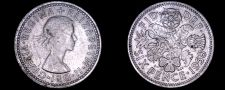 Buy 1958 Great Britain 6 Pence World Coin - UK - England