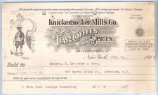 Buy New York New York City Letterhead / Billhead Knickerbocker Mills Co. 154-1~34
