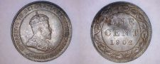 Buy 1902 Canada 1 Large Cent World Coin - Canada