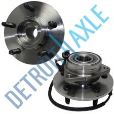 Buy 2 NEW Front (Left and Right) Ford Lincoln WHEEL HUB BEARING ASSEMBLY 5 LUG ABS