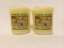 Buy Authentic Yankee Candle Votive Set Of 2!! Buttercream!