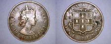 Buy 1963 Jamaican 1 Penny World Coin - Jamaica