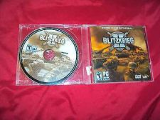 Buy BLITZKRIEG II PC GAME DISC ART & CD CASE NEAR MINT TO VG SHIPS SAME DAY OR NEXT