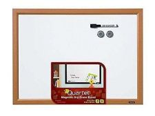 Buy Magnetic Dry Erase Board 17x23 Inches Wood Finish Frame Whiteboard Marker Office