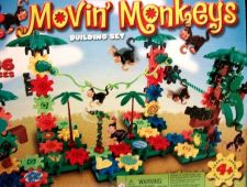 Buy Moving Monkeys building gears toys