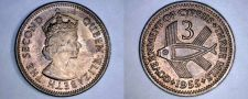 Buy 1955 Cyprus 3 Mils World Coin
