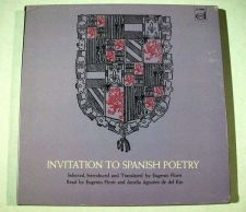 Buy INVITATION TO SPANISH POETRY ~ 1965 LP Box and 150-page book