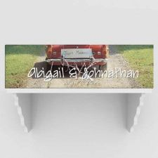Buy Personalized Just Married Canvas Prints- Free Personalization