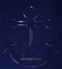 "Buy Anchor 10.75""x 13"" - ~1/4"" Thick - Clear Acrylic - Quilting/Sew/Craft Template"