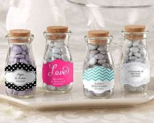Buy Vintage Milk Favor Jar - Wedding (Set of 36) (Free Personalization)