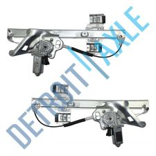 Buy Pair: New FRONT Driver and Passenger Window Regulator Assembly - w/ Motorset