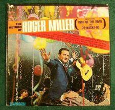 Buy ROGER MILLER ~ The Return of Roger Miller 1965 Country LP