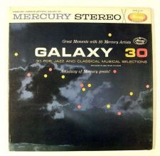 Buy Mercury Stereo / GALAXY 30 Pop, Jazz and Classical Selections ~ DOUBLE Stereo LP