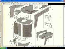 Buy MASSEY FERGUSON MF 65 PARTS MANUAL 420pg for Gas Diesel Utility Orchard Tractors