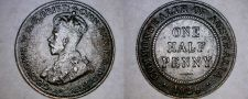 Buy 1926 Australian Half Penny World Coin - Australia