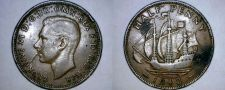 Buy 1942 Great Britain 1/2 Penny World Coin - UK - England