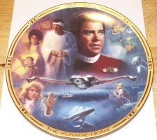Buy Star Trek Plate Voyage Home - Hamilton Collection