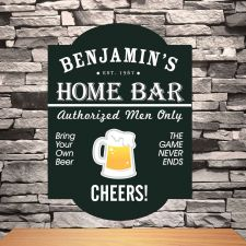 Buy Classic Tavern Bar Signs - Free Personalization